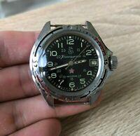 Watch Vostok Komandirskie Zakaz MO Chistopol Wostok Wristwatch USSR Soviet