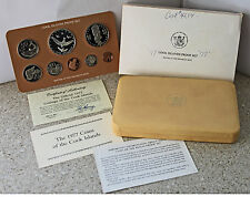 1977 8 Coin Cook Island Proof Set w/ Silver $5 Original with COA Franklin Mint