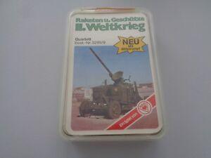 Aus Sammlung: ASS Kartenspiel 60er/70er 32 Karten Kanonen II Weltkrieg