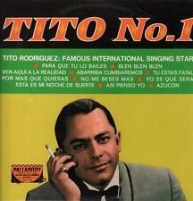 Tito Rodriguez(Vinyl LP)Tito No.1-Palladium-PLP 118-Spain-1989-VG+/NM