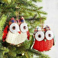 Kurt Adler Christmas Woodland Owl Ornament New 2019 JT0141 You Pick