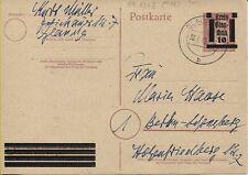 Lokal Glauchau Postkarte PA 893 II nach Berlin (B07081)