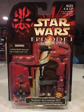 MOC Star Wars 1999 Episode 1 NABOO Accessory Set Grappling Hook Backpack 91301