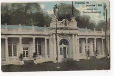 Exposition de Bruxelles 1910 Palais Des Travaux Feminins Postcard Us086