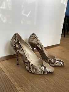 Gucci Python pumps Gr 37,5
