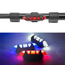 USB Rechargeable LED Bicycle Taillight Waterproof Bike Rear Safety Warning Lamp