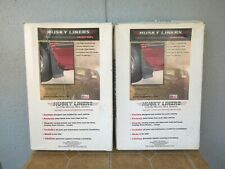 Husky Liners 56211 57211 Mud Flaps Front Rear Pairs Complete Set of 4 NIB