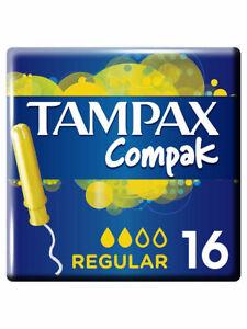 Tampax Compak Regular Duo Tampons - 16 Count