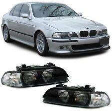 Fari h7 hb3 CON FRECCE BIANCO-COPPIA PER BMW 5er e39 95-00