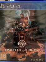 Omen of Sorrow - Sony PlayStation 4, 2018 PS4 Brand New Factory Sealed