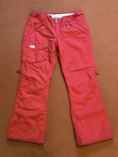 The North Face Freedom Insulated Ski Snow Pants Women's XL Red