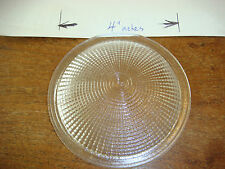 "ABI GLASS lens ONLY for 5"" Dome Lights Brand New 4"" diameter GLASS RARE"