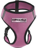 Pet Control Harness Large Cat Dog Soft Pink Mesh Walk Collar Safety Strap Vest
