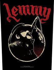 OFFICIAL LICENSED - LEMMY - MICROPHONE BACK PATCH METAL MOTORHEAD