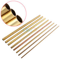500mm Round Brass Tube Copper Pipe OD 6/8/10/12/14/16/18/20mm fr Modelmaking BS