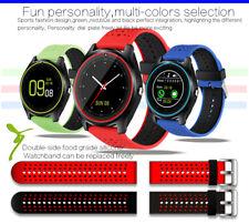 Android Smart Wrist Watch Bracelet Bluetooth Sim Phone Camera Activity Tracker