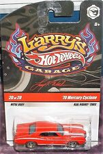 2009 Hot Wheels #20-20 Larry's Garage Red Chase '70 Mercury Cyclone with Larry's