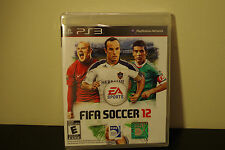 FIFA Soccer 12  (Sony Playstation 3, 2011) *New / Factory Sealed