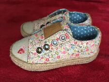 Next Girl Sneakers Espadrilles Infant Size 3