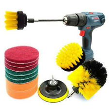 Drill Brush Scrub Pads 12 Piece Power Scrubber Cleaning Kit All Purpose Cleaner