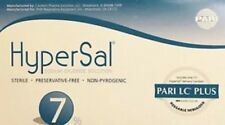 HyperSal 7% Hypertonic Saline Solution 60 Vials 4ML With PARI LC PLUS. Exp 03/22