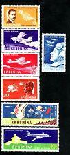 SELLOS AVIACION  RUMANIA 1960 A-111/17 7v.
