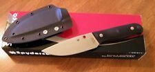 SPYDERCO New Black G10 Handle Akerman Serrata Plain Edge 440C Blade Knife/Knives