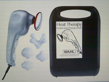 WAHL Handheld Heat Therapy Full Body Massager W/5 Attachments & Case 4196-1701