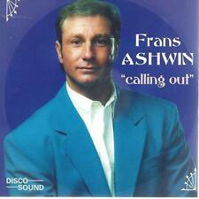 CD album - FRANS ASHWIN - CALLING OUT   - HOLLAND POP