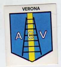 FIGURINA SCUDETTO GOAL CREMA 1976/77-VERONA