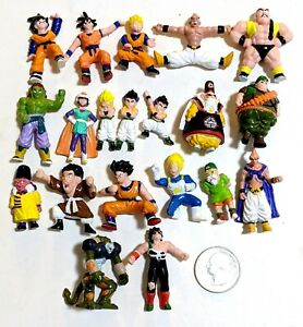 CHOOSE: 1 to 1.5 inch Dragon Ball Z Mini-Figure 1989 AB Toys * Combine Shipping!