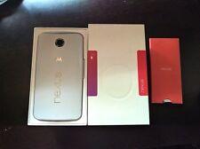 Unlocked Motorola Nexus 6 XT1103 32GB Cloud White Smartphone