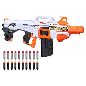 Hasbro Nerf Ultra Select Fully Motorized Blaster, Fire for Distance or Accuracy