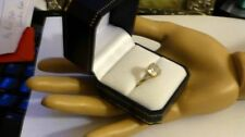 Engagement Excellent Cut Yellow Gold SI2 Fine Diamond Rings