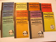 11 Vintage 1936 Practical Delta Projects Woodworking Books 23456789 10 12 14