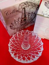 Bridal/Wedding Shower Gift Callini Collection Fine Crystal Ring Holder Lot of 3