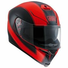 Full Face AGV Helmets with Integrated Sun Visor