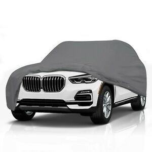 [CSC] 5 Layer Full SUV Car Cover for 2003-2021 BMW X3 28i 30i xDrive-Durable