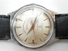 USED VTG SS SWISS WEST END WATCH CO SOWAR PRIMA 17 JEWEL MENS AUTOMATIC WATCH
