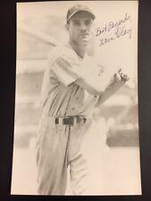 Bill Donovan Braves/other Signed 1940s Postcard Size Jsa Pre-certified