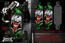 LOSI 5IVE-B CHASSIS WRAP DECAL 'STIFF UPPER LIP' HOP UP SKID PLATE PROTECTION