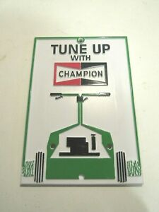 Champion Spark Plug Advertising Plaque Boat Marine Anchor Art Can be Mounted