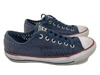 Converse Chuck Taylor All Star Mesh Women's Shoes Size 8.5 Blue 551540F