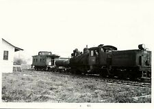7F999J RP 1963 GRAHAM COUNTY RAILROAD SHAY ENGINE #1926 CABOOSE ROBBINSVILLE NC