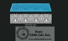 Cake Lace Mat 3D High Definition - Peacock - New - Ideal for Cake Craft