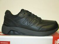 New Balance MW928BK3 Men's Leather Motion Control Black Walking Shoes