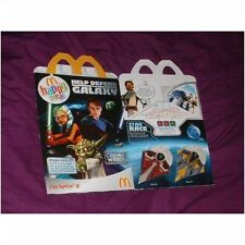 MCDONALDS Happy Meal SCATOLA VUOTA Star Wars Clone Wars (usati) UK