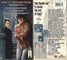 VHS: 25th ANNIVERSARY MIDNIGHT COWBOY...DUSTIN HOFFMAN-JON VOIGHT