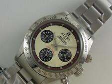 Alpha Daytona Paul Newman Dial Glossy Bezel 3-Registered Chronograph Watch