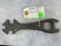 """Vintage Wrench Gale Mfg. Co Implement Wrench Multi-Tool 7"""" Gale Mfg Co Plow Mfg."""